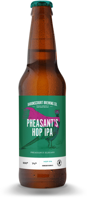 Pheasent's Hop IPA by Baronscourt Brewery